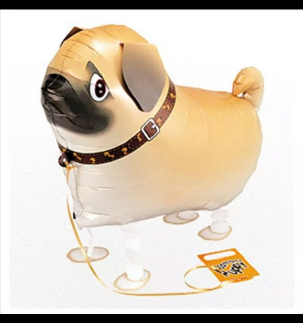 pug airwalker balloon