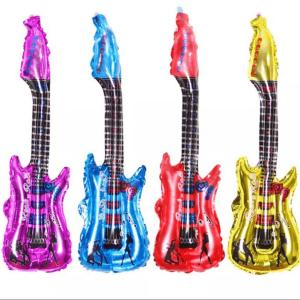 large guitar foil balloon