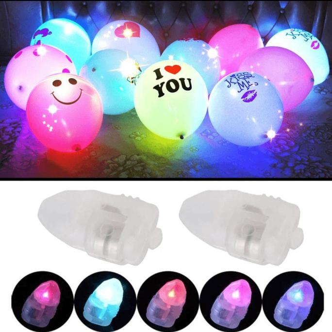 3 pack Light up balloons