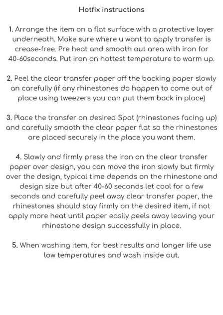 hotfix instructions printable