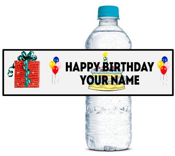 personalised bottle wraps