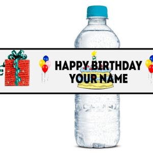 personalised bottle wraps