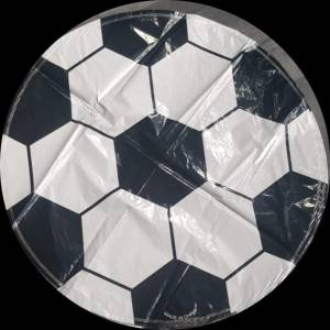 football round foil balloon 18""