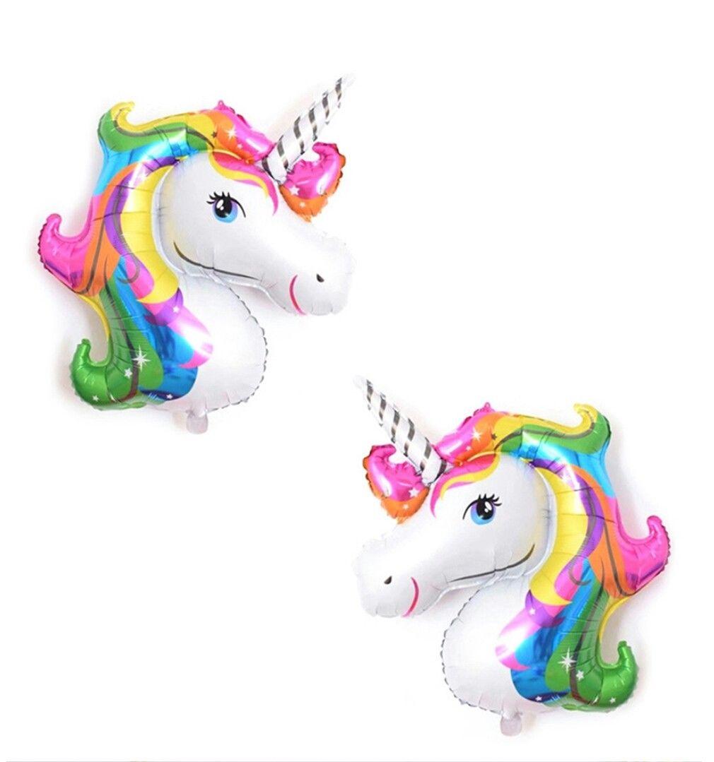 Unicorn head foil baUnicorn head foil balloonslloons