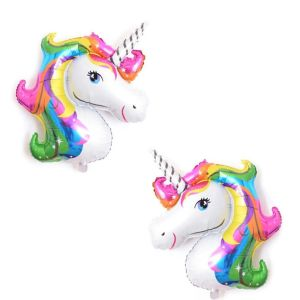 Unicorn head foil baUnicorn head foil balloonslloons