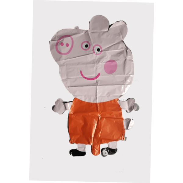 Peppa pig giant 3d character foil balloon