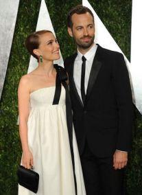 Natalie Portman y esposo