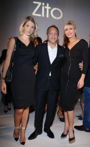 DLBA - Fashion Celebrities - Julieta Spina, Guillermo Azar y Karina Rabolini
