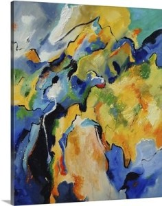 Cezanne Style Abstract