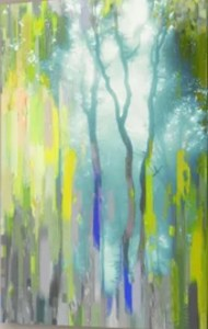 Muted Soft Trees Abstract