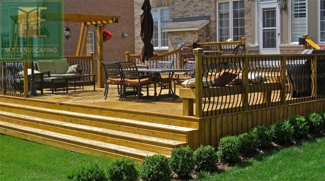 Garden Design Garden Design With Deck Designs And Plans Decks Com