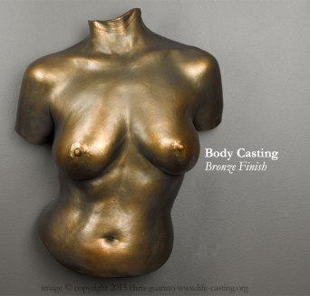 Body cast with Bronze Finish