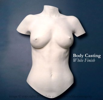 Body Cast - White Finish