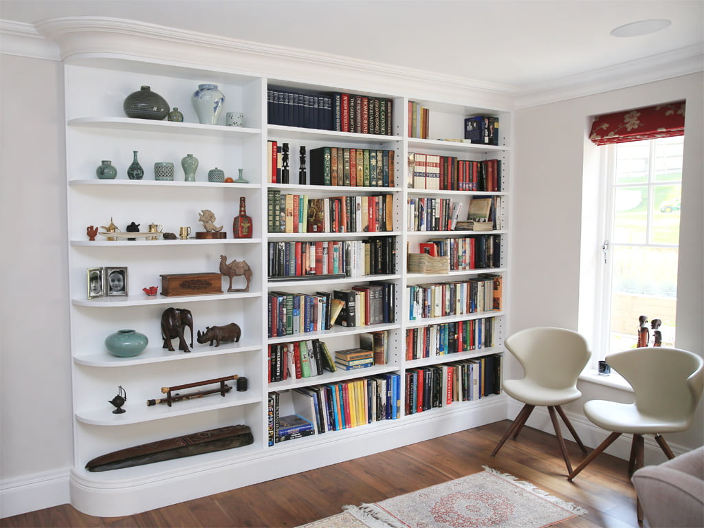 Alcove Units  Custom Alcove Units  Bookcases in Ireland