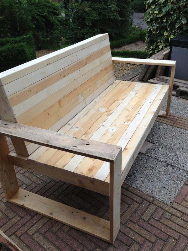 Cara Membuat Kursi Dari Kayu Bekas : membuat, kursi, bekas, Keren:, Membuat, Mebel, Palet, Bekas!, CustomMebel.com