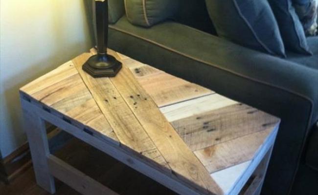 Cara Membuat Meja Dari Kayu Palet Desainrumahid