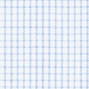 N1-3653405 Lt Blue Broadcloth Graph Check