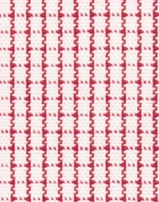 N1-3653408 Red Broadcloth Graph Check