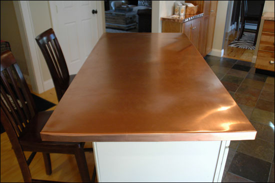 Copper Countertops Custom Metal Home