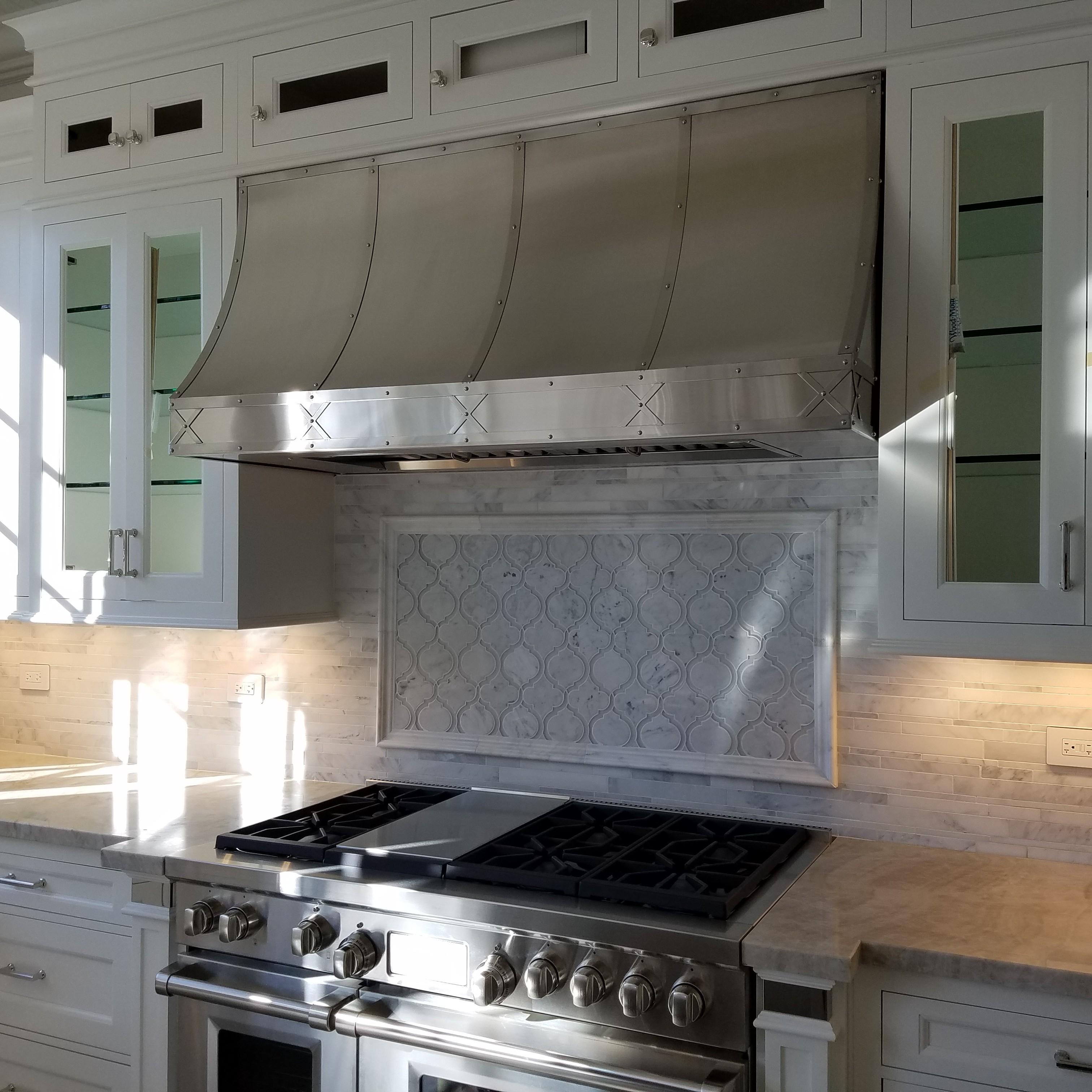 Best Kitchen Gallery: Stainless Steel Range Hoods Custom Metal Home of Metal Kitchen Hoods on rachelxblog.com