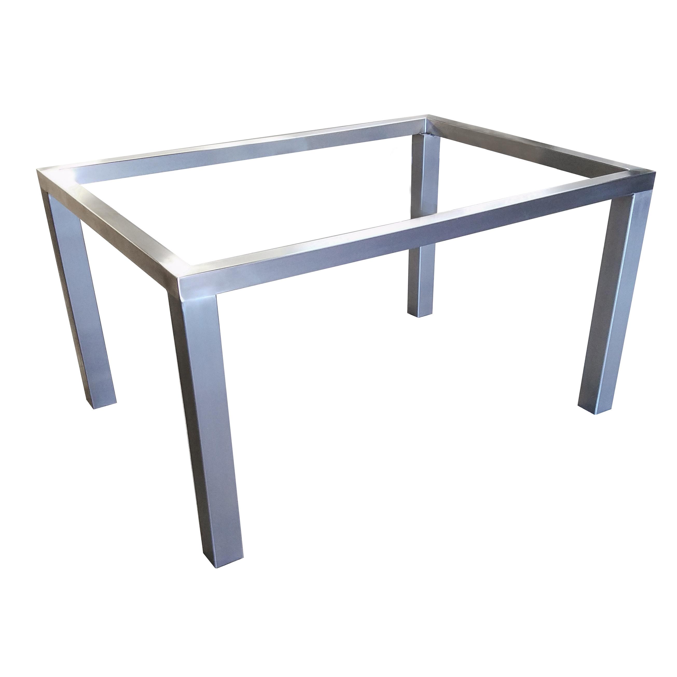 Parsons Table Base  Custom Metal Home