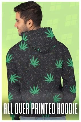 All Over Printed Hoodies For Men