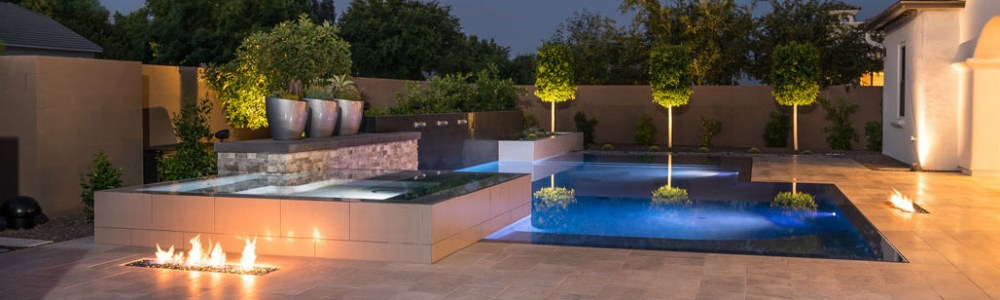 Athena Fireglass is Available at Custom Outdoor Living of Southern Nevada