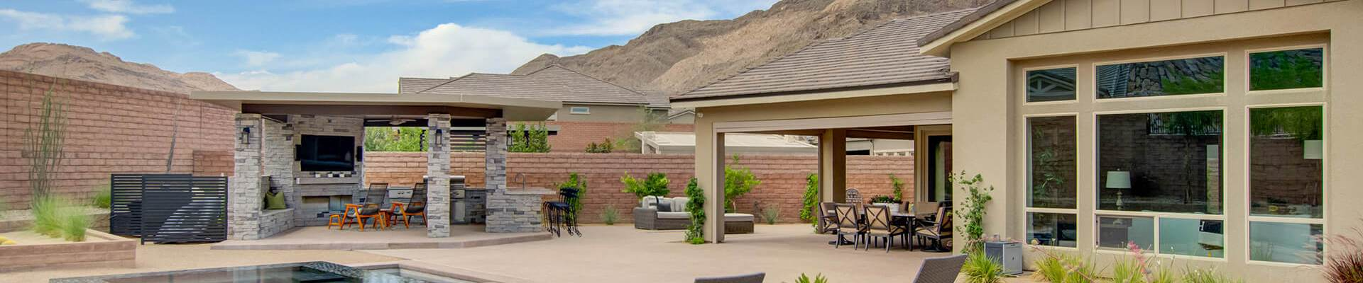 Custom Outdoor Living - Custom Outdoor Kitchen and Living Area Design and Construction