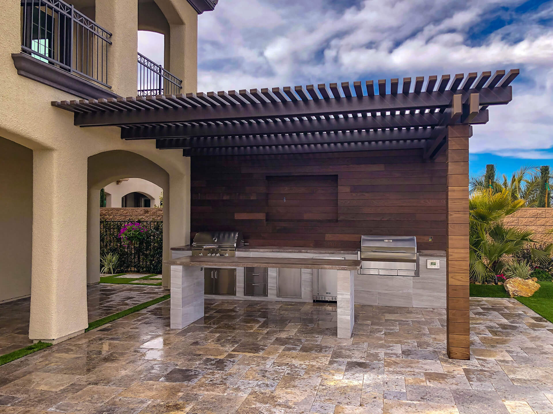nevada s outdoor kitchen patio cover