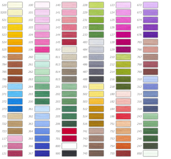 color chart personalized patches