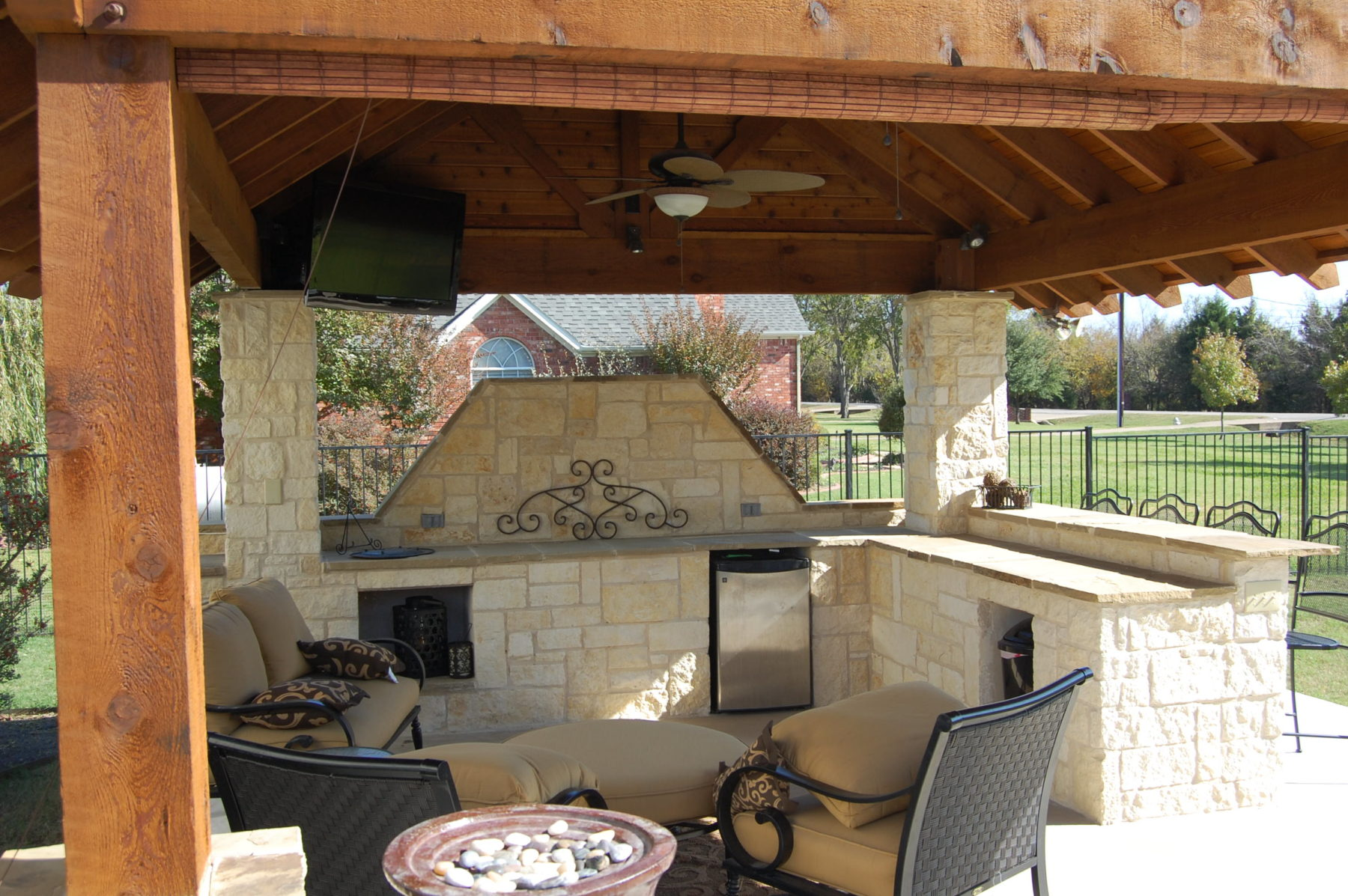 Outdoor Kitchens  Custom Patio Designs  Forney TX