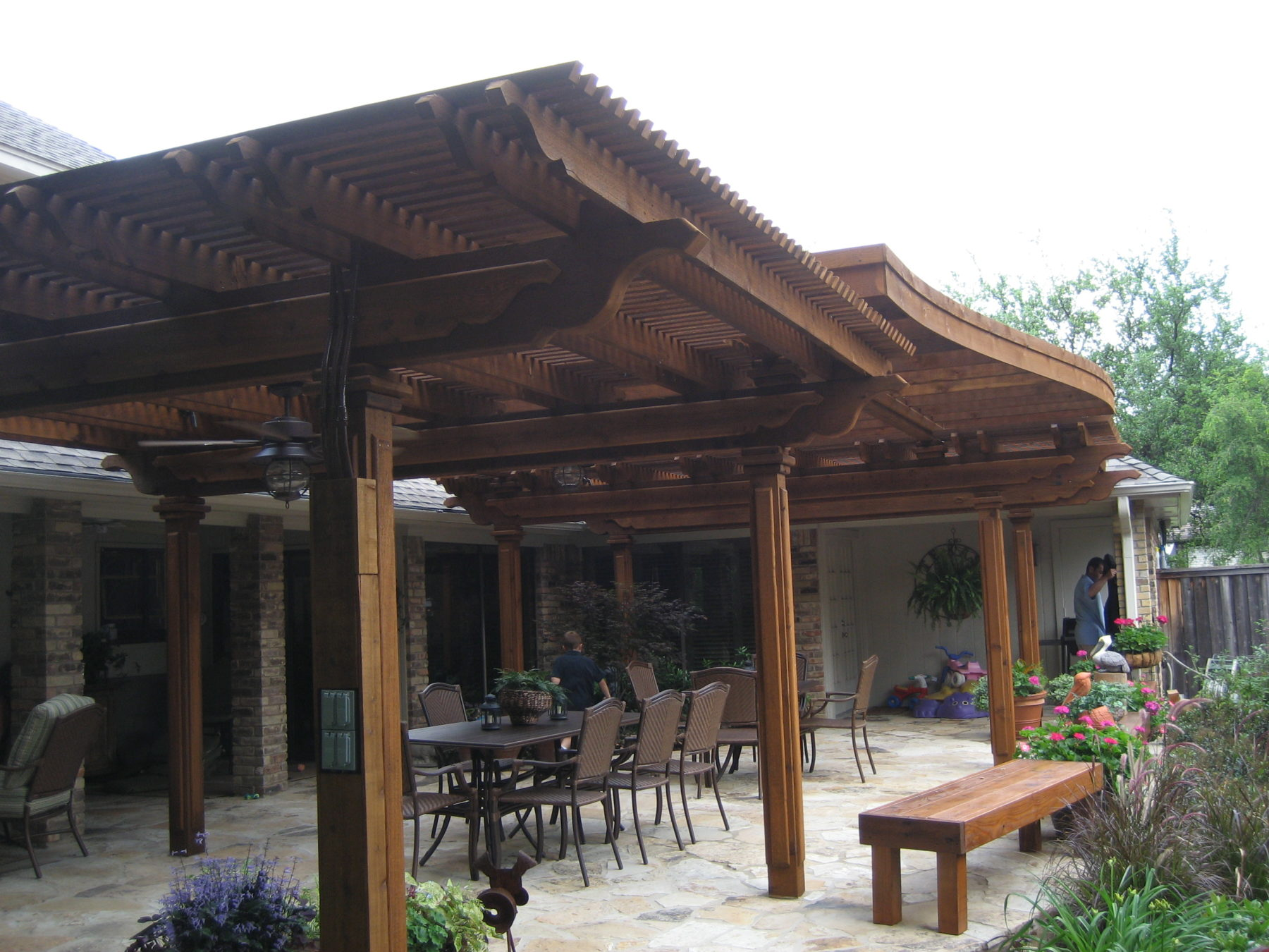 Multi Level Shade Structures Custom Patio Designs