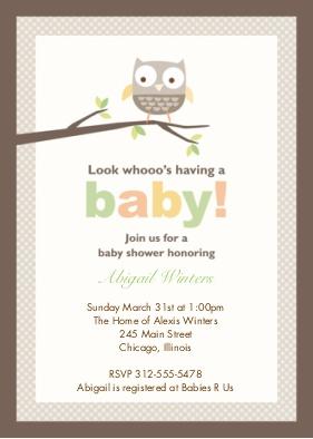 Baby Shower Invitations 5