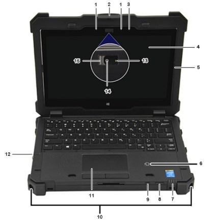 Dell 7204 Diagram