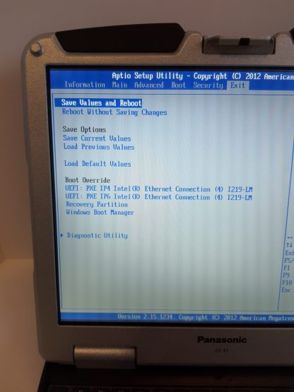 CF-31 MK6 Recovery Partition