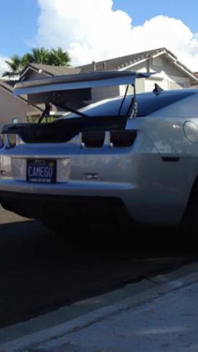 2013 Camaro - Silver Bullet - 16