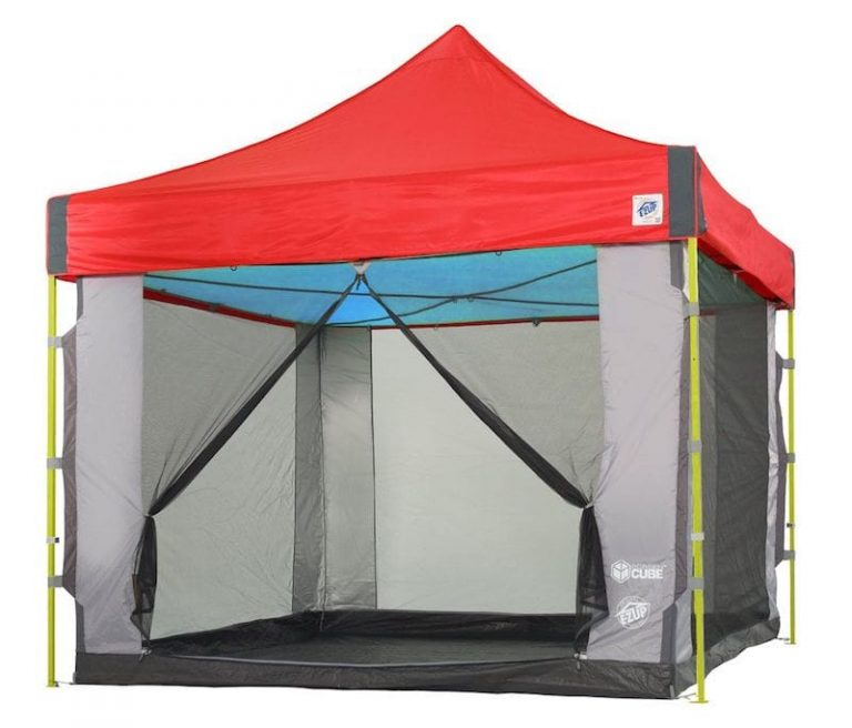 Screen Cube™ 6 – For Straight Leg Shelters   Custom Shelters   E-Z Up Canada