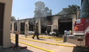 storage unit fire