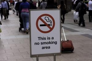 custom signs no smoking area