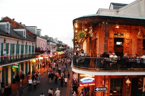 New Orleans French Quarter smoke free