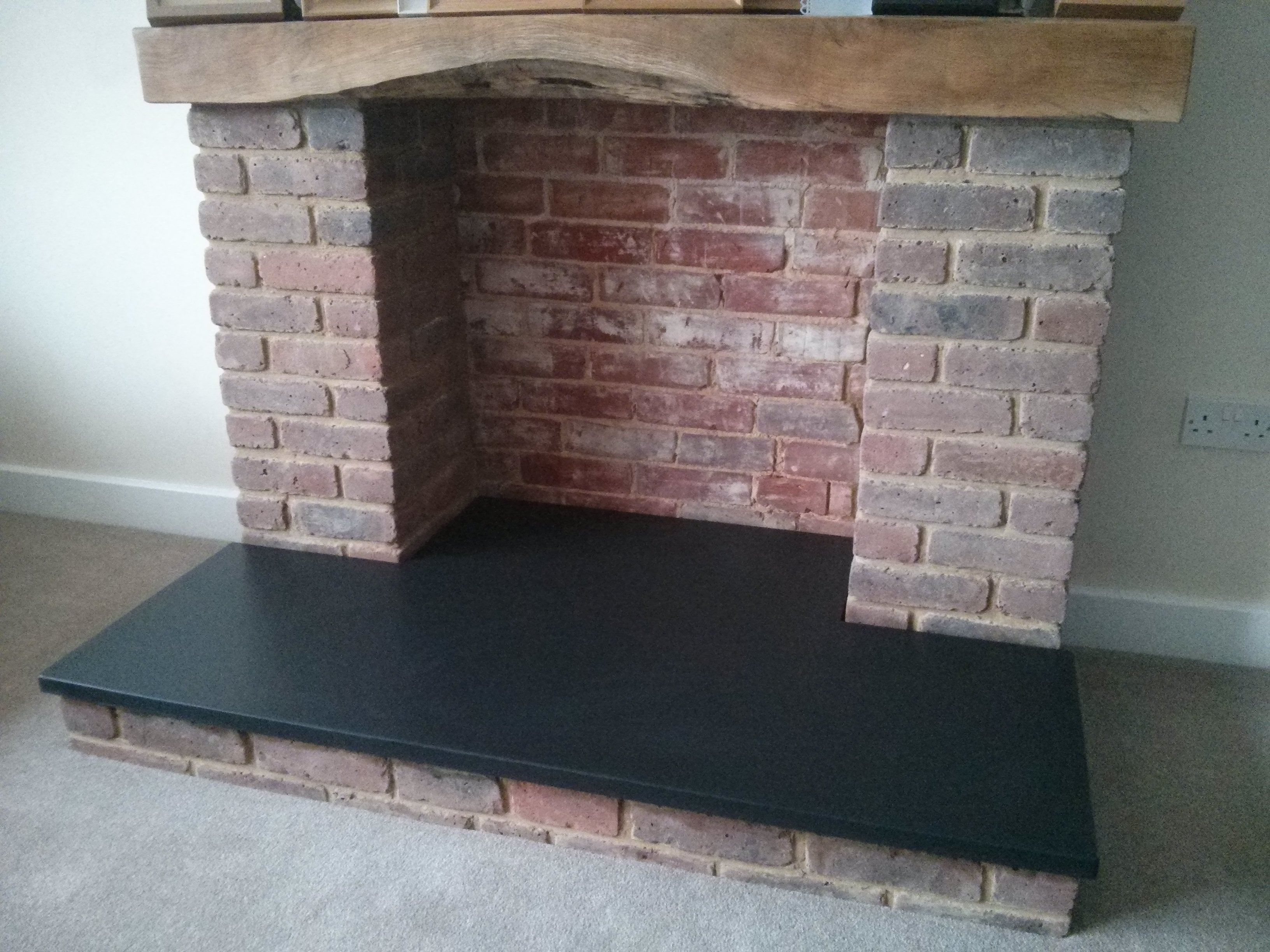 Custom Slate Hearth  Made To Measure Slate Hearths  UK Delivery