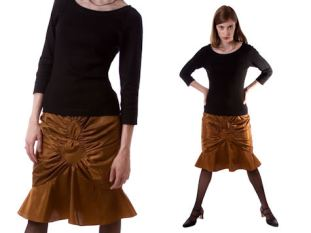 Modern style skirt with interesting details.
