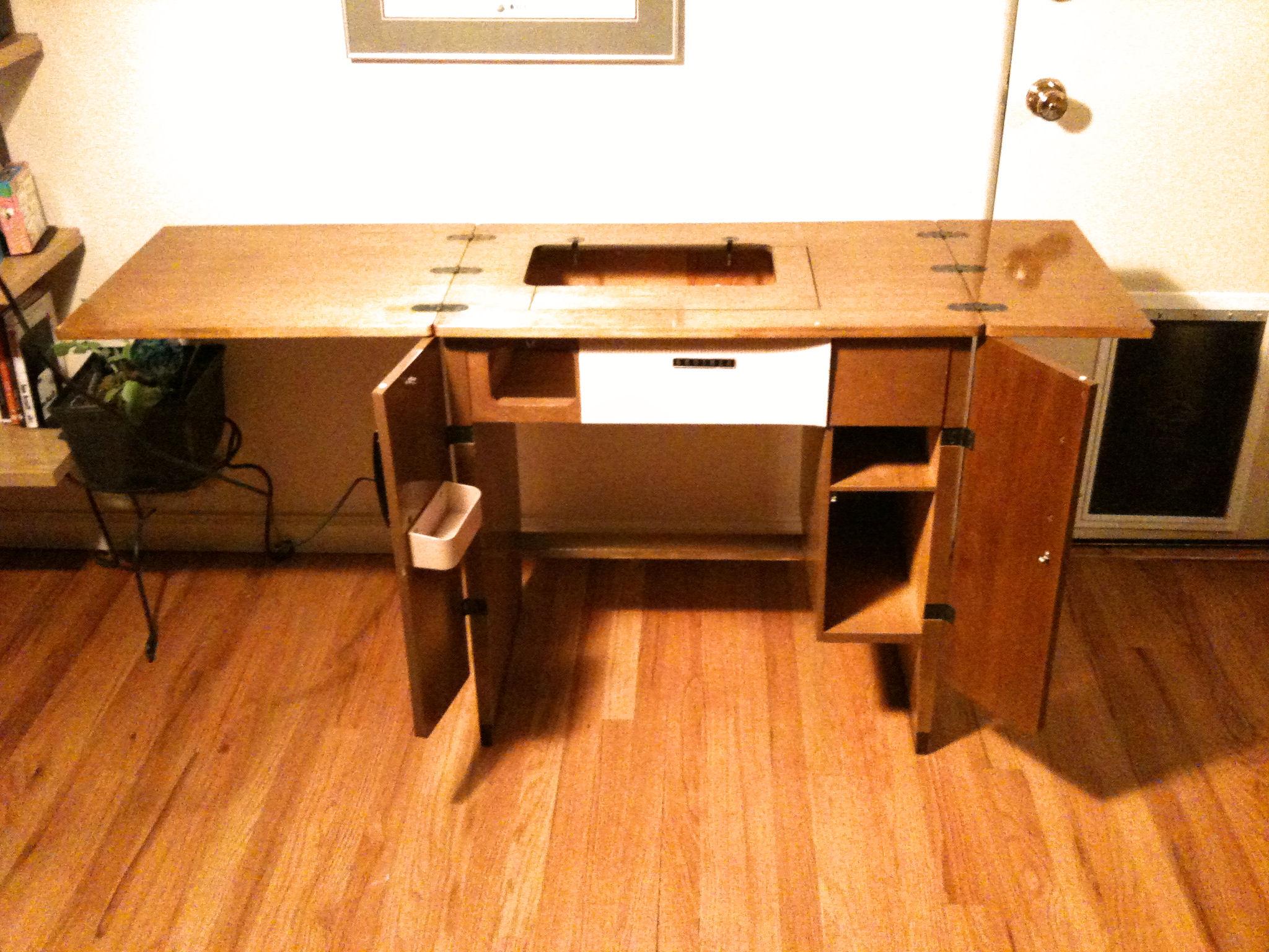 Sewing Machine Serendipity  Custom Style