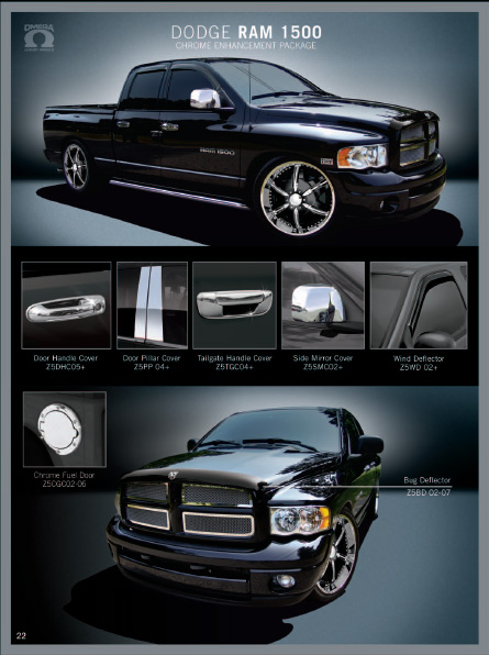 Dodge Ram Custom Grill : dodge, custom, grill, Dodge, Chrome, Accessories,, Custom, Aftermarket, Parts, Grills,, Mirror, Covers,, Handles,, Doors