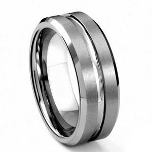 Silver-mens-8mm-tungsten-ring--queenswish-collection