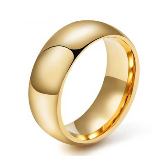 mens-8mm-polished-smooth-gold-tungsten-ring
