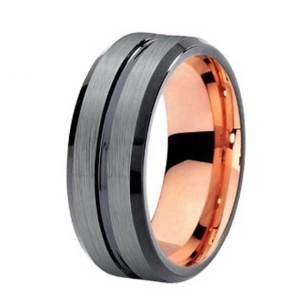 mens-8mm-silver-with-rose-gold-lining-polished-stripe-tungsten-ring