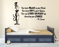 The Cat in the Hat Iconic Character from Dr. Seuss Wall ...
