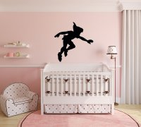 Peter Pan Wall Decal Vinyl Sticker, Disney Shadow ...