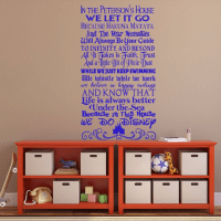 Disney Quotes Wall Decal - Personalized Family Sign ...